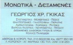 ΓΕΩΡΓΙΟΣ  ΧΡ. ΓΚΙΚΑΣ