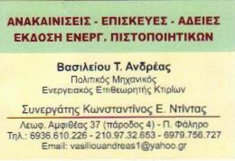 ΕΝΕΡΓΕΙΑΚΟΣ ΕΠΙΘΕΩΡΗΤΗΣ ΠΑΛΑΙΟ ΦΑΛΗΡΟ ΒΑΣΙΛΕΙΟΥ