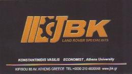 JBK LAND ROVER SPECIALISTS