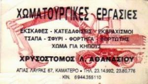 ΧΡΥΣΟΣΤΟΜΟΣ Α.ΑΘΑΝΑΣΙΟΥ
